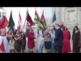 Королевская семья покидает Вестминстерское аббатство после службы в честь Дня Содружества, 11.03.2019