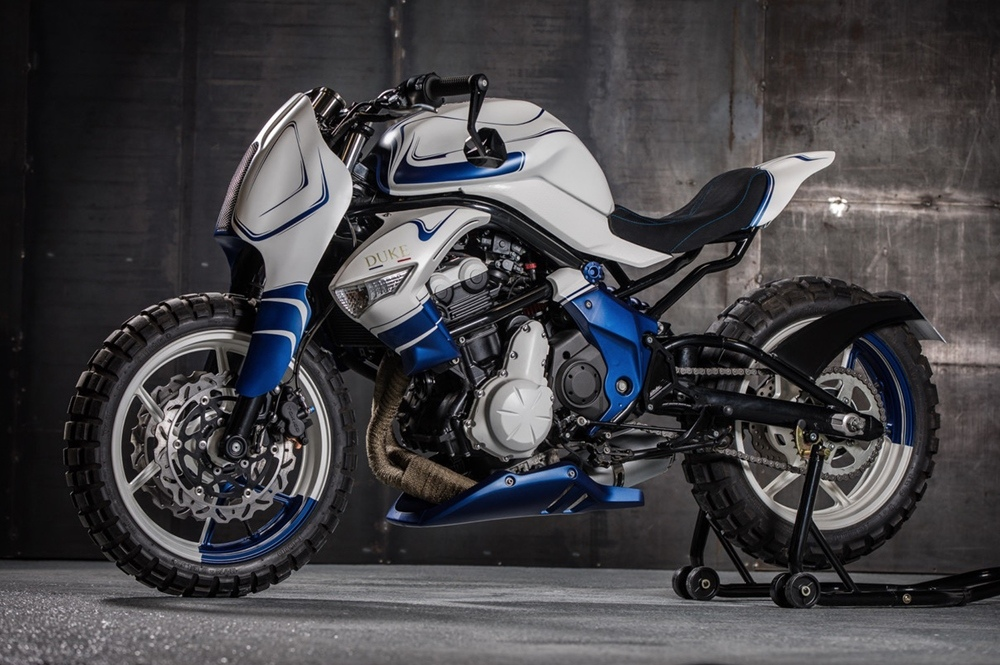 Duke Motorcycles: стритфайтер Kawasaki ER-6n