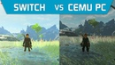 [Switch Vs Cemu] The Legend of Zelda: Breath of the Wild 2018 (30FPS Vs 60FPS) (Full Comparison)