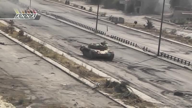 Гражданским водителям как бы пофиг на БД бои в аль Кабуне Дамаск в 2013 году