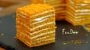 МЕДОВИК за 30 минут Простой рецепт без раскатки коржей Honey Cake recipe