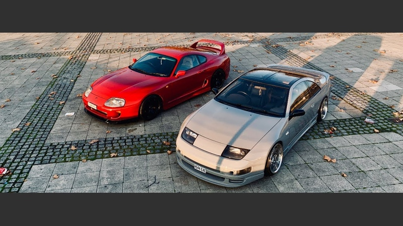 Boosted Garage's Toyota Supra mk4 and Nissan 300zx z32