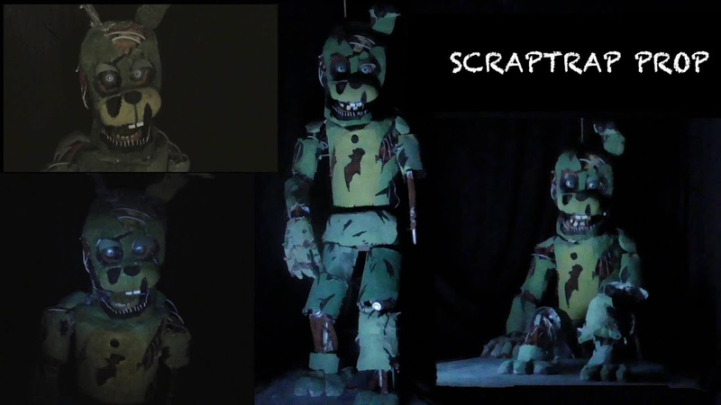 Real ScrapTrap model / Prop / Five Nights at Freddy's / Cony