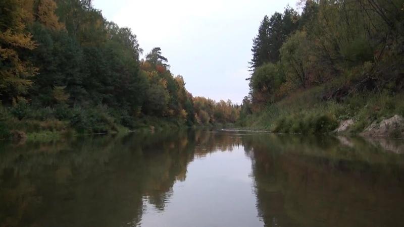 Сплав по реке Илеть сентябрь 2010. River rafting