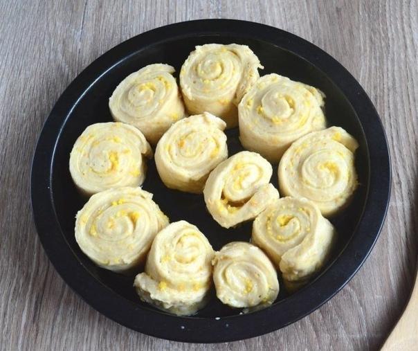 Пышные ароматные апельсиновые булочки