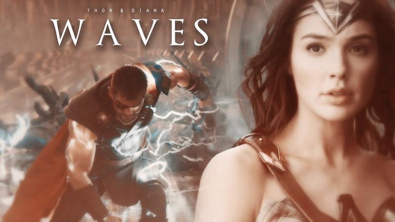 ❖ Thor Diana | Waves (DSS Secret Santa)