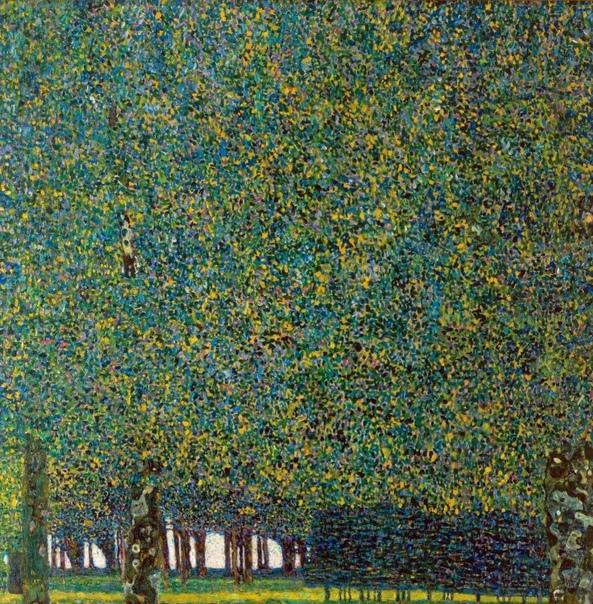 « одного шедевра». «Парк», Густав Климт