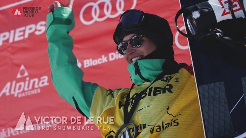 Snowboard Men Highlights FWT19 Xtreme Verbier