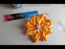 🌹 How to make Kanzashi gift ribbon bow 28 🌹 D.I.Y Tutorial fiocco in raso 🌹