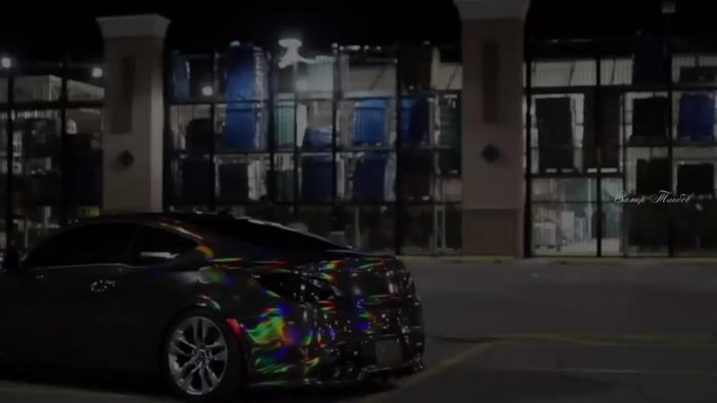 Holographic chrome vinyl car КЛАССНАЯ МУЗЫКА COOL MUSIC