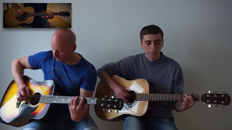 Кино В Цой Ночь на гитаре cover