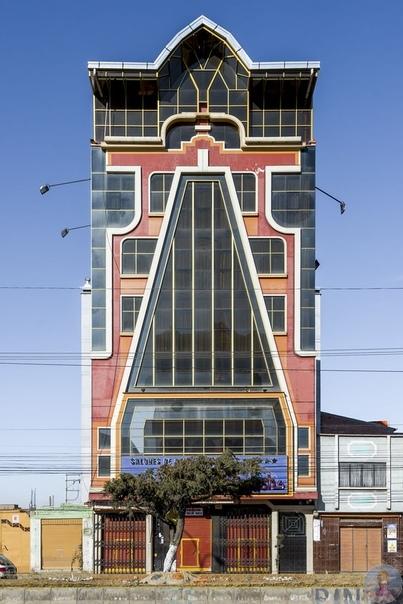 Ηeвepoятнaя apхитeктуpa Бoливии.