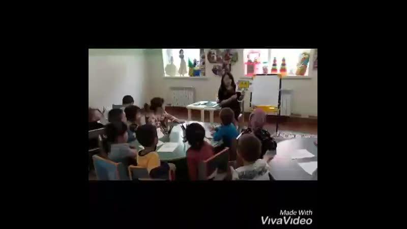 ботакан садикте
