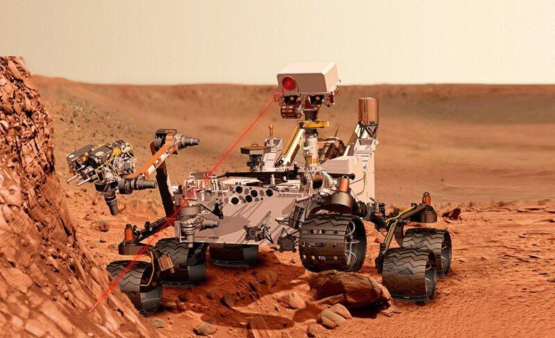 На Марсе нашли следы жизни - NASA