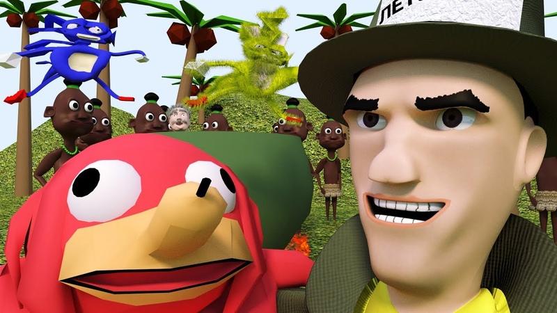 Журналист Патрик: о феномене Наклза из Уганды (3D-анимация)