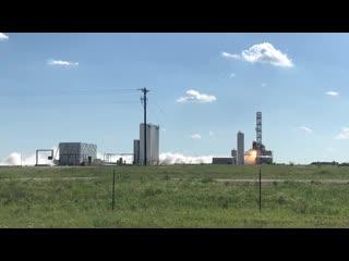 Квалификационное огневое испытание второй ступени РН Firefly Alpha (полн. видео) | 25.04.2019