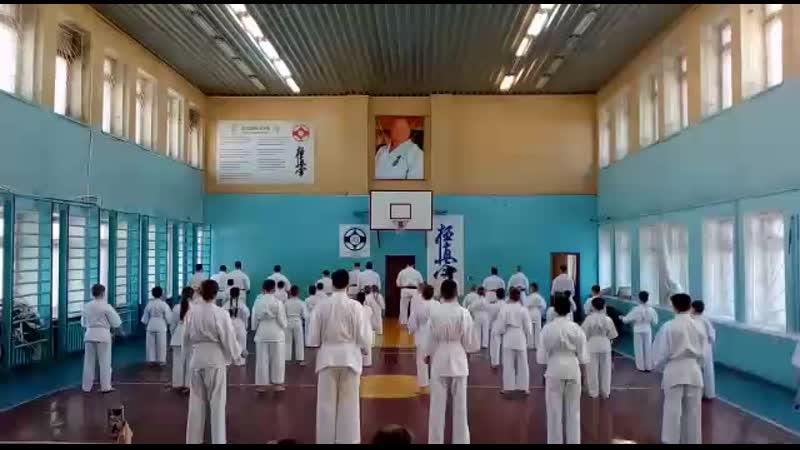 Посвящение в каратисты, 2019г