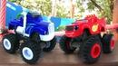 Машинки для детей. Вспыш и чудо-машинки на детской площадке. Мультики для малышей песочница