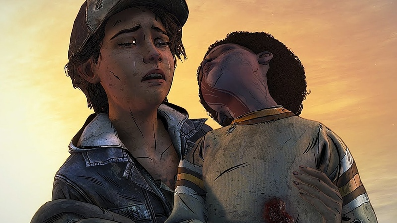 This is so sad even doe it aint real - The Walking Dead The Final Season Model Swap Fanmade Ending