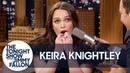 Keira Knightley Plays Despacito on Her Teeth and Reveals a Love Actually Secret