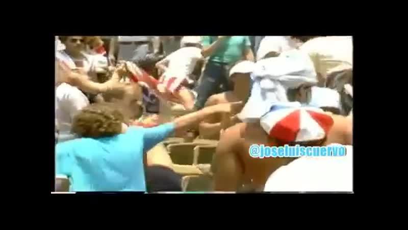 England v Argentina - WC Mexico - 1986 (football hooligans)