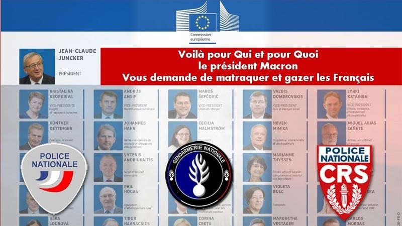 Voilà pour Qui et pour Quoi Macron demande aux Forces de lOrdre de Matraquer et Gazer Les Français.