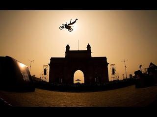 Bike Stunts - Red Bull FMX Jam at the iconic Gateway of India