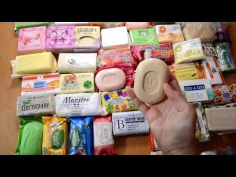 SOAP HAUL opening 2 ASMR unpacking Закупка мыла № 2