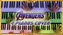 Avengers: Endgame Main Theme (4 PIANOS COVER) by Epic Piano Music