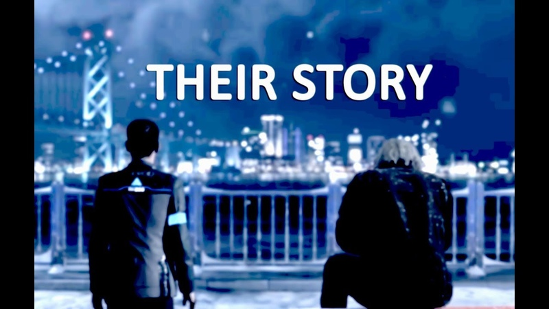 Detroit Become Human Connor and Hank Their Story