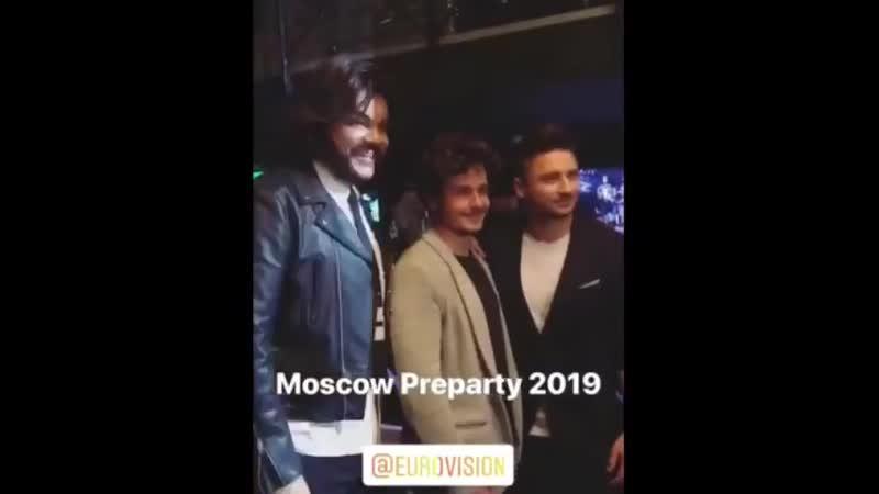 Pre party Евровидения 2019 Москва 23 апреля 2019 г