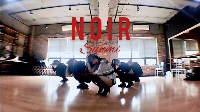 [Noir challenge] 선미-누아르 (Noir) Dance | Noir by Sunmi | Comma Dance Choreography