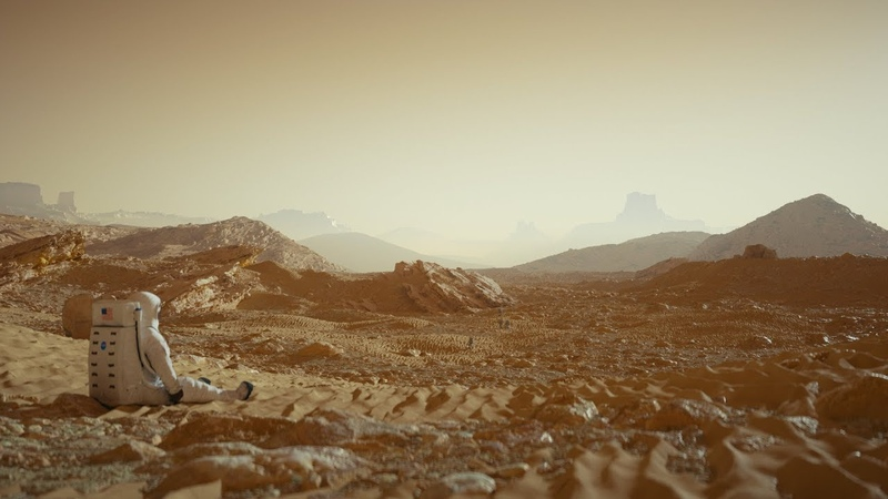 Cinema 4D Tutorial - Create a Detailed Mars Landscape Using Octane Displacement
