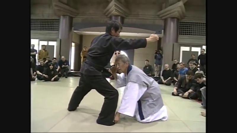 Taijutsu with kakushi buki Tekagi Shuko Masaaki Hatsumi sensei