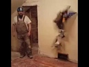 Oh yeah construction guy breaking through wall vine