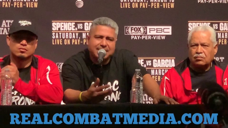 "MIKEY GARCIA: ""I THOUGHT I HAD AN ANSWER FOR SPENCE BUT I COULDN'T ADJUST TO SPENCE."""