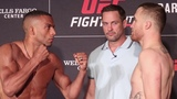 Edson Barboza vs. Justin Gaethje | Official Weigh-In Staredown