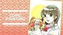 【Copic】ミニ色紙