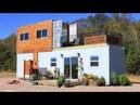 Двухэтажный дом из 40 ка и 20 ти футовых контейнеров с бассейном джакузи на 2 ом этаже