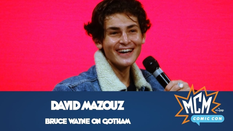 Gotham's Bruce Wayne David Mazouz Panel From Saturday At MCM Manchester Comic Con July 2019