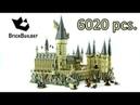 Lego Hogwarts Castle Second Biggest set Ever 6020 Harry Potter 71043 Lego Speed Build