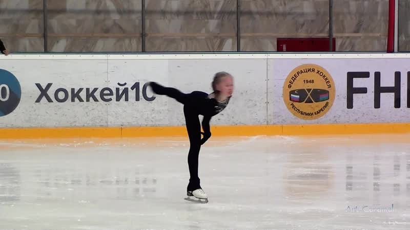 Софья Позднякова ШФК Елены Бережной 20190330 Ice SZFO G KMS FS
