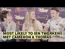 Thomas Doherty Cameron Boyce: Most Likely To tag   CosmoGIRL!