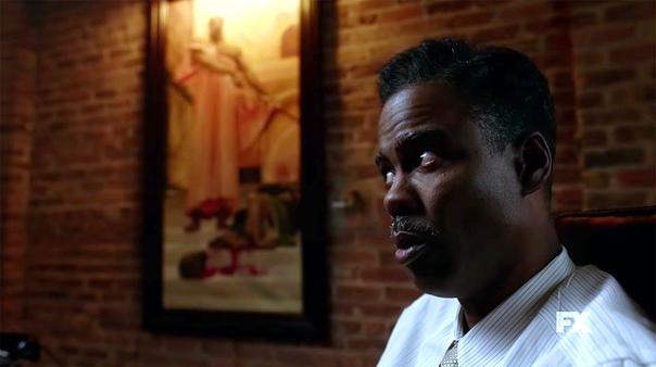 Крис Рок на первом кадре четвертого сезона криминального сериала «Фарго»