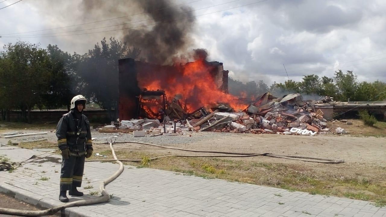 Взрыв в Костанае: 7 пострадавших, два человека в реанимации