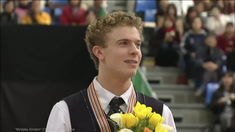 [HD] Mens Medal Ceremony - 2002 Worlds FS - Alexei Yagudin, Timothy Goebel, Tak