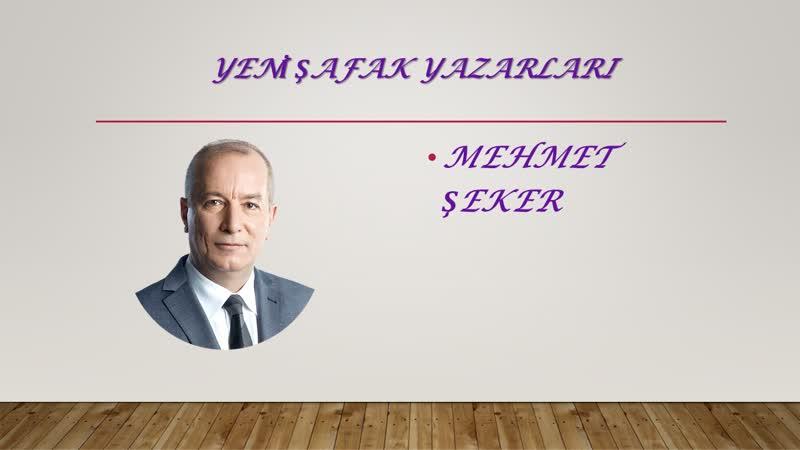 Mehmet Şeker - Haltı müdafaa ile nereye varacaksınız؟ - 11.05.2019