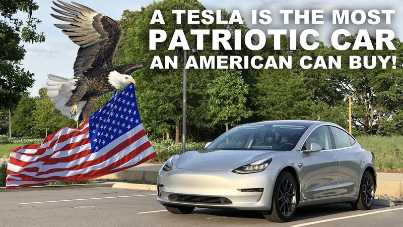 🇺🇸 A Tesla is the most patriotic car an American can buy! 🇺🇸