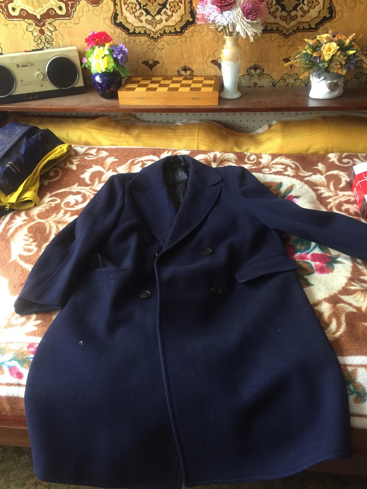 добрый день, имеется пальто 63 года, Материал Драп Деми, размер 54.