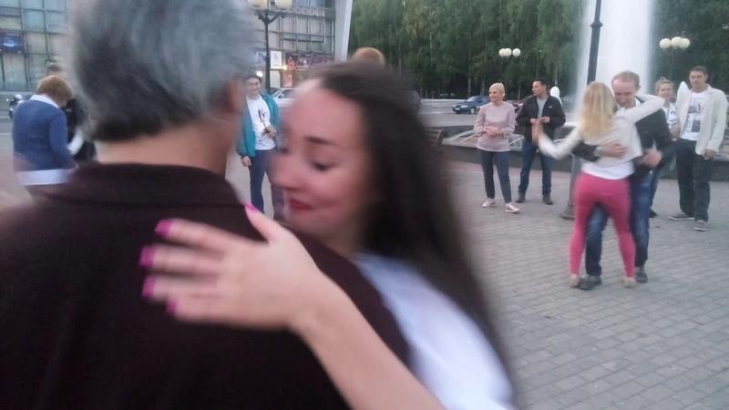 Танцы на Театральной площади г. Сыктывкара 26.08.2018 - Рыба - Ленинград